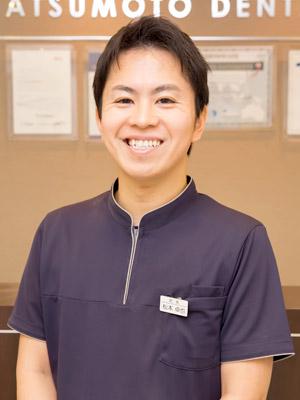 まつもと歯科院長 歯学博士 松本卓也